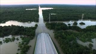 Hwy 6 & Addicks Spillway Houston Flood 2016