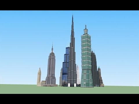 The Tallest Buildings Of Their Time