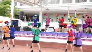 「新潟市立万代高校ダンス部 」 にいがた総おどり2018