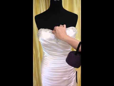 how-to-bling-up-a-wedding-dress