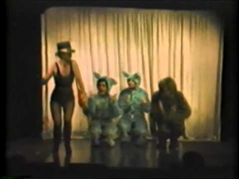 """Madame Bolzemova & her Bolshevik Bunnies"" from ""Oh You Kid!"" revue"