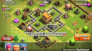 CLASH OF CLANS! QUANTO ORO HO PRESO????