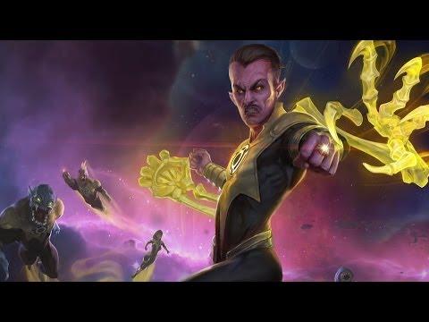 Sinestro - Infinite Crisis - Champion Profile