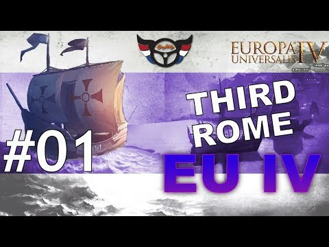 EU4 Third Rome - Russia into Roman Empire - ep1