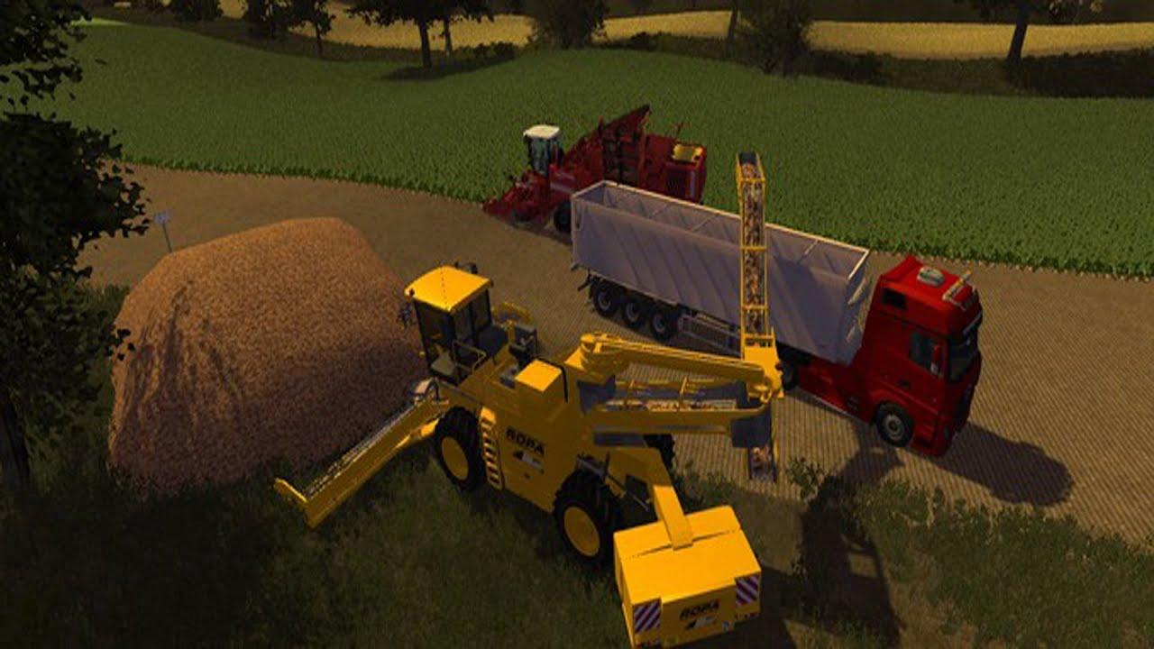 Mod vorstellung berall auskippen verladen landwirtschaft simulator 2013 youtube