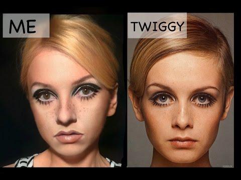 Twiggy Makeup Transformation
