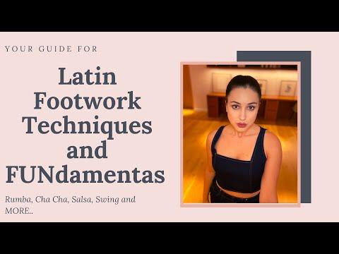 Latin Dances Footwork Techniques and FUNdamentals