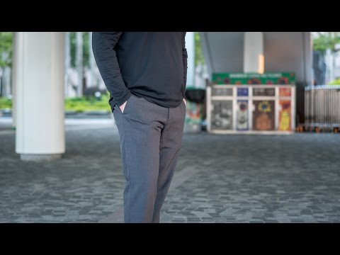 Bluffworks Review - The Best Travel Pants in the World? - Part 1 (in 4K!)