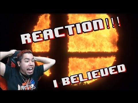 Super Smash Bros. Nintendo Switch REVEAL REACTION! | HMK