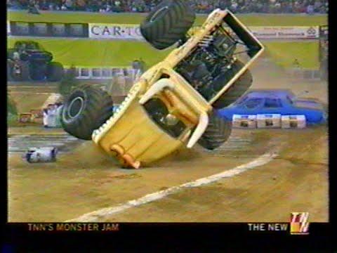 Houston 2002 TNN Monster Jam Stop 2 Week 1 Racing