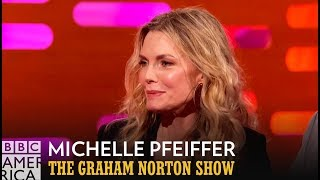 Michelle Pfeiffer Loves Being Part of Uptown Funk - The Graham Norton Show
