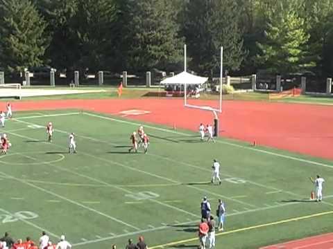 Carnegie Mellon Football vs Ohio Wesleyan Highlights 10-9 ...