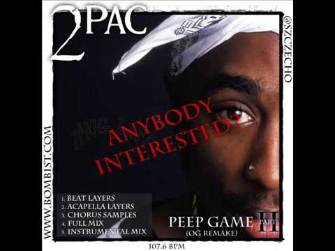 2Pac - Peep Game part 2 (OG Remake)