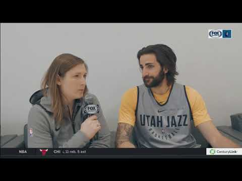 Lindsay Whalen catches up with old friend Ricky Rubio