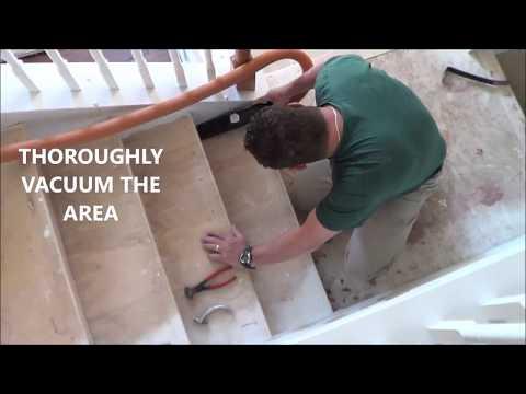 Hardwood Staircase Installation