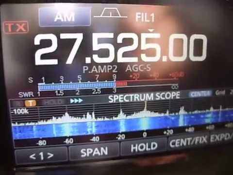 icom 7300 & 11metter band CB