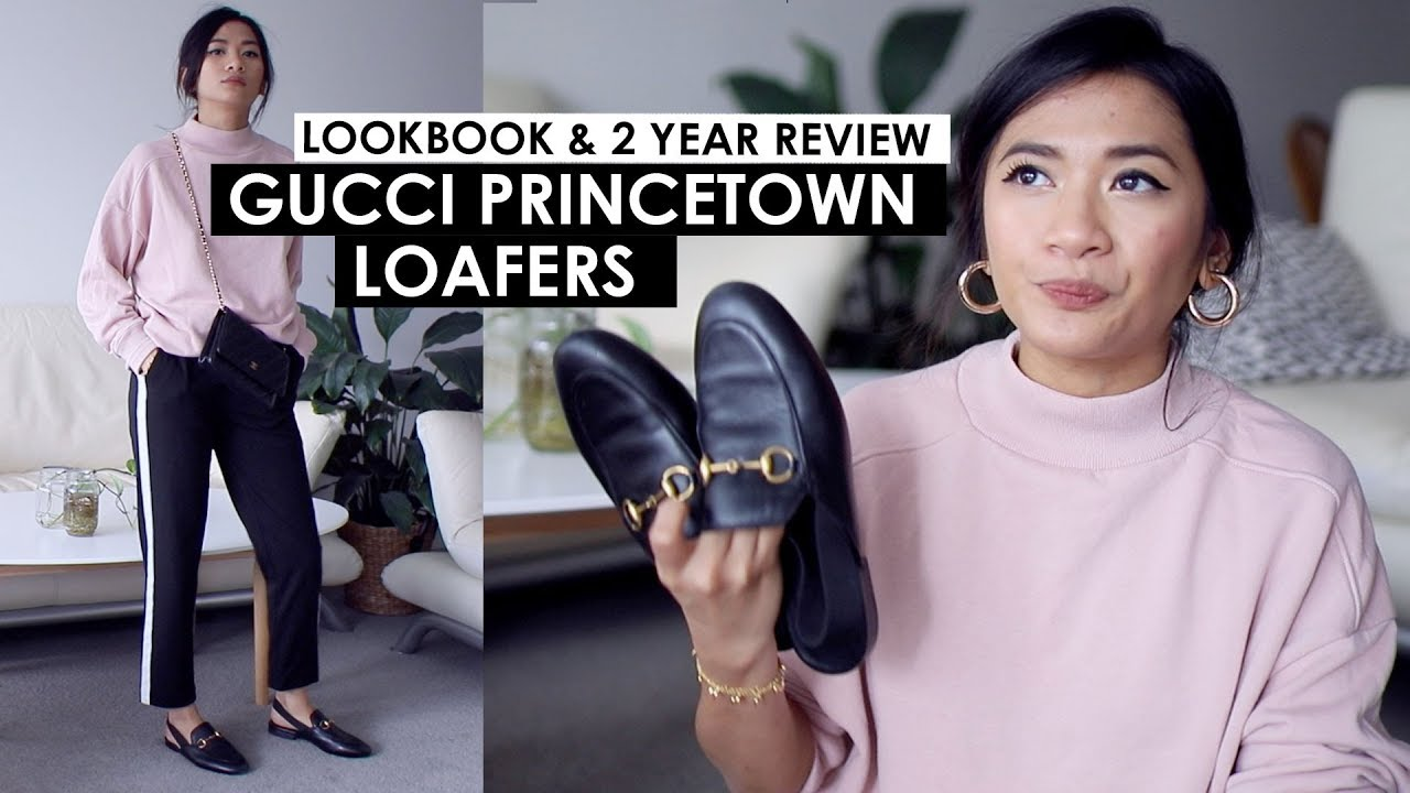 604c4b21b GUCCI PRINCE TOWN LOAFERS | REVIEW & HOW I STYLE THEM - YouTube