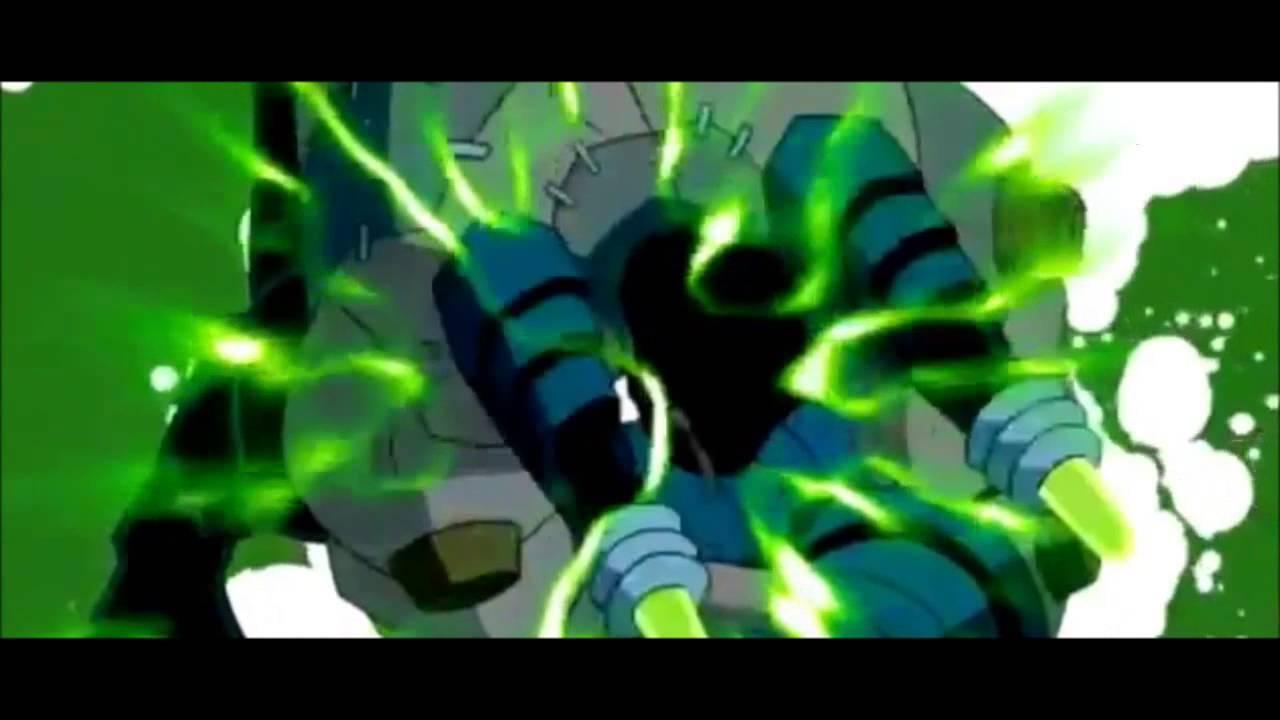 Ben 10 Omniverse Frankenstrike Transformation - YouTube