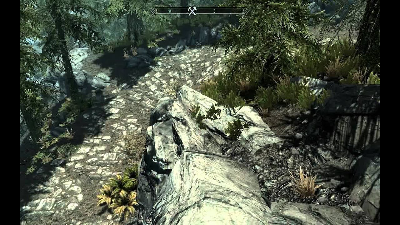 The Great Skyrim Treasure Hunt Map 1 of 11 - Elder Scolls V Skyrim ...