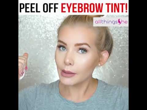 Peel Off Eyebrow Tint  ATS