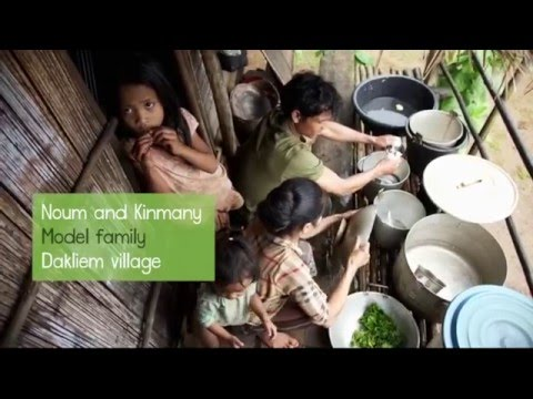 Duck Raising - Laos Nutrition Project (2/6) | Health Poverty Action