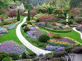 Beautiful Butchart gardens