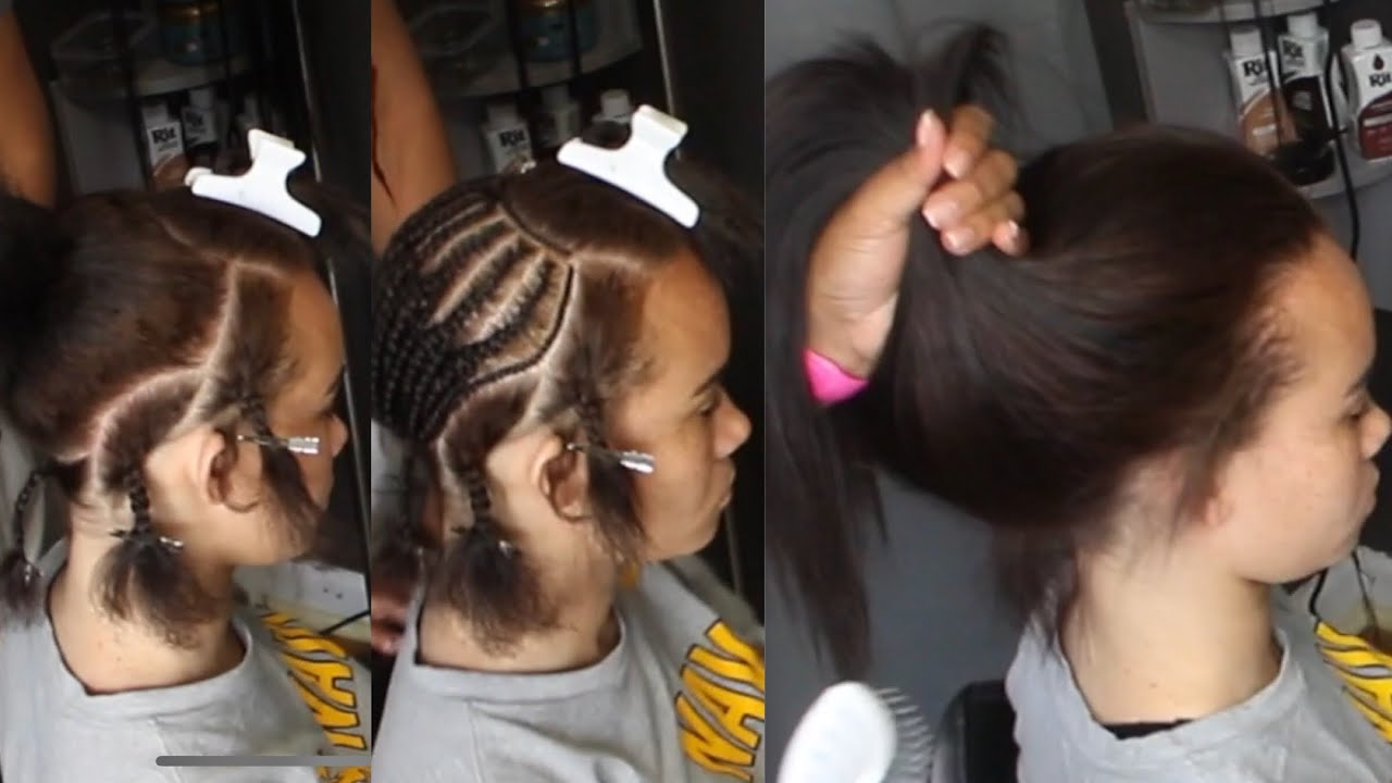High Ponytail Sew In Versatile Sew Start To Finish Youtube