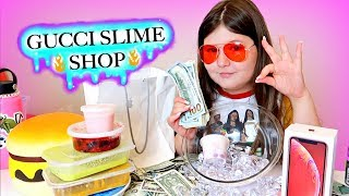 GUCCI SLIME SHOP GRAND RE OPENING! ~ LIFE OF A SLIME SCAMMER SKIT