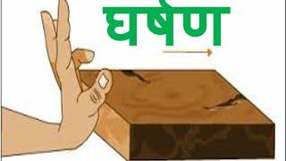 Friction - Hindi Lesson for Kids घर्षण