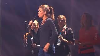 eurovision 2011: anke engelke singing angel (rehearsal)