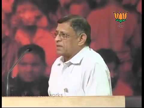 S.Gurumurthy speech on Globalisation and Society