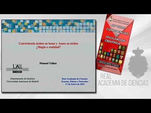 Manuel Yáñez Montero, 17 de enero de 2019.2ª conferencia delXV CICLO DE CONFERENCIAS DE DIVULGACIÓN CIENTÍFICA.CIENCA PARA TODOS 2019▶ Suscríbete a nuestro canal de YouTubeRAC: https://www.youtube.com/RealAcademiadeCienciasExactasFísicasNaturales?su