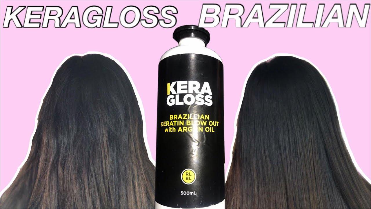 DIY HAIR TREATMENT AT HOME USING KERAGLOSS BRAZILIAN ...