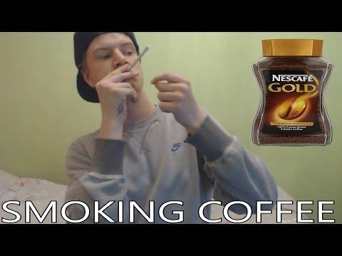 Smoking Coffee