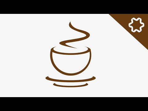 Quick Coffee Cup Logo Design Tutorial / Coffee House / Shop / Adobe illustrator Tutorial