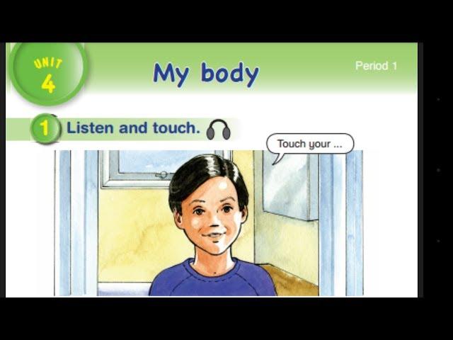 هيا نهجي ونتعلم كيف نكتب كلمات أعضاء الجسم(My Body)للأطفالlearn English with us