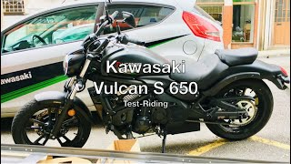 Test-Riding Kawasaki Vulcan S 650