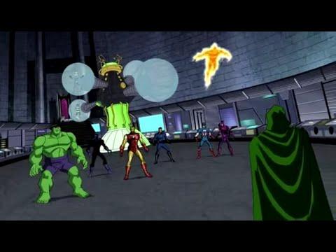The Avengers & tastic 4 vs Doctor Doom