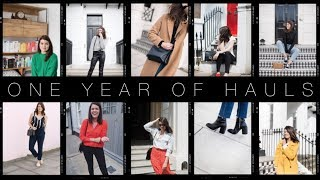 Reviewing a Year of Capsule Wardrobe Hauls | The Anna Edit