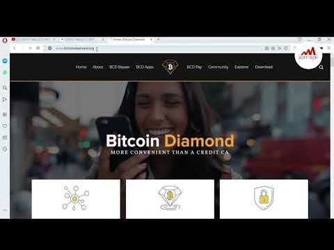 How To Bitcoin Diamond Setup | How Do Bitcoin Diamond Work | BCD