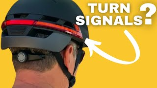 THESE Bike Helmets Have TURN SIGNALS?