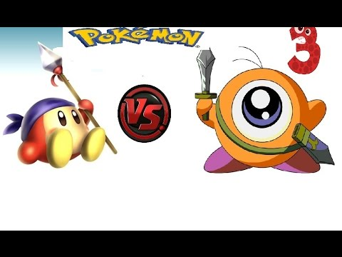 Waddle Dee Vs Waddle Doo in some Pokemon - YouTube Waddle Dee And Waddle Doo