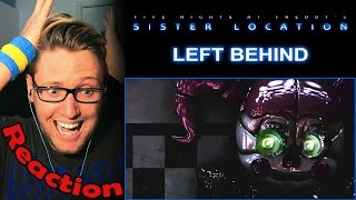 Left Behind (FNAF Sister Location Song) by DAGames REACTION! | LEGENDARY! |