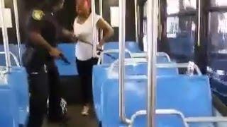 Citizens Make Cop Holster Gun During Arrest