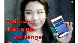 5 Minutes Make up Challenge Thumbnail