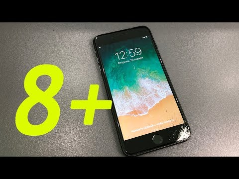 Ремонт iphone 8+ замена стекла - Replacing the glass