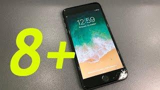 видео замена стекла iphone 8