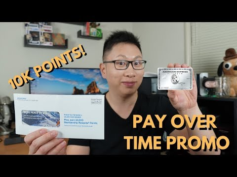 10K Point Offer: Amex Pay Over Time Explained (Targeted)