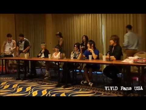 ViViD Live in the USA:  Part I   Face to Face (Q&A)