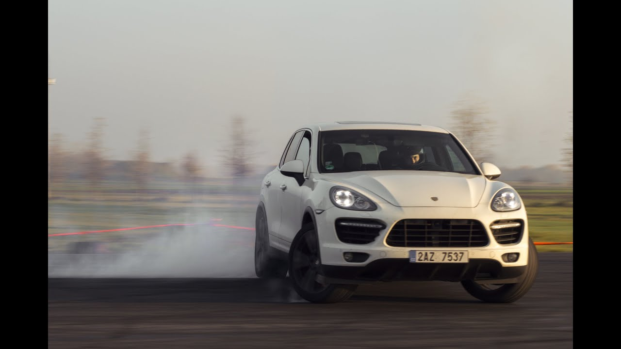 Drifting 2011 Porsche Cayenne Turbo | Onboard POV - YouTube